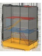 Клетка Teddi Lux I для мелких грызунов (крашеная)