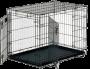 Клетка для собак Flamingo №5 с 2-мя дверьми (107х68х75 см) черна